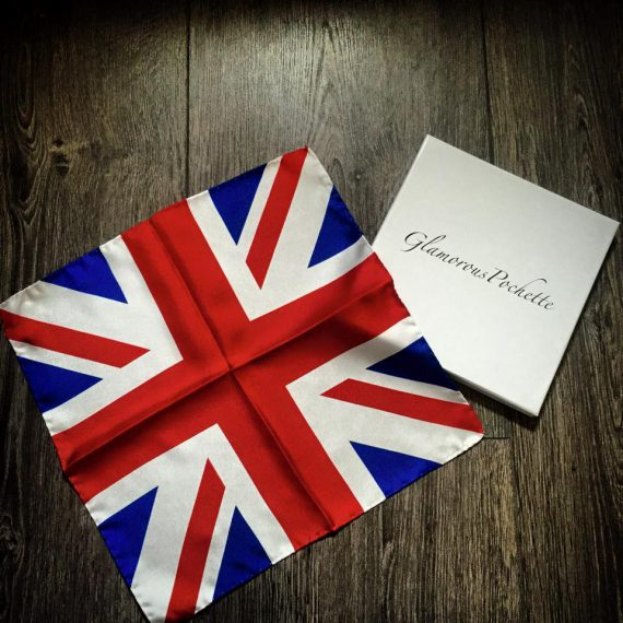 Union Jack Pocket Square